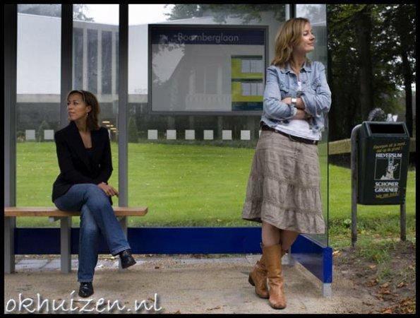 Diana Matroos en Daphne Lammers, nieuwslezer RTL4